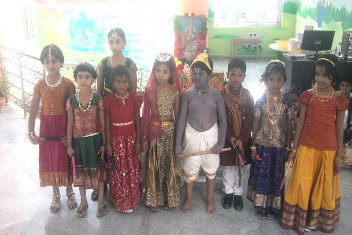 Shemford Futuristic School-Krishnastami Celebrations