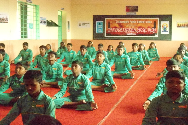 Shempark Public School-Yoga