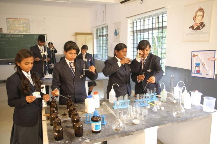 Shevaroys Valley School-Chemistry Lab