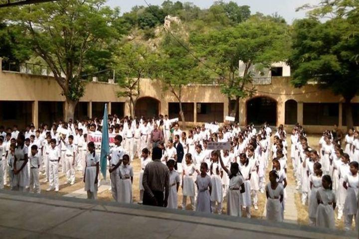 BVB Kamala Rani Sanghi Public School-Assembly Ground