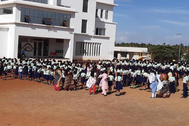 Shiva Niketan School-Assembly