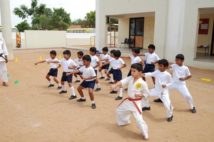 Shiva Niketan School-Karate