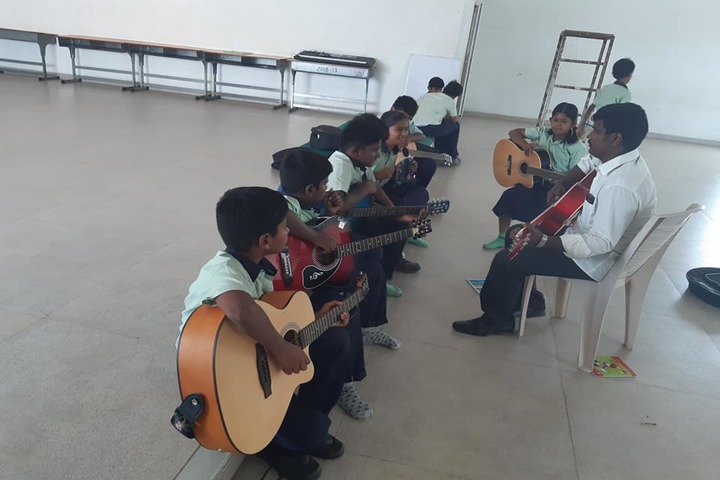 Shiva Niketan School-Music room