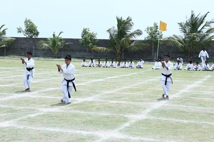 Shree Niketan Patasala-Karate