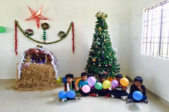 Shree Sankalpa School-Christmas Celebration