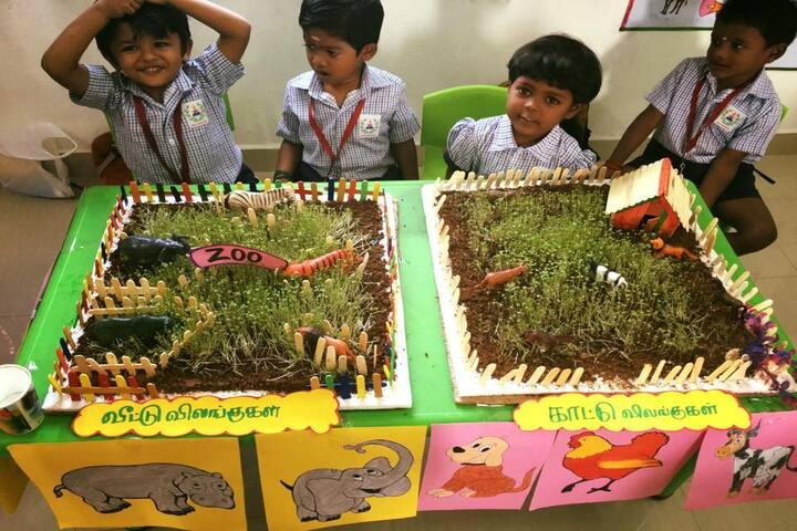 Shree Sankalpa School-Exhibition