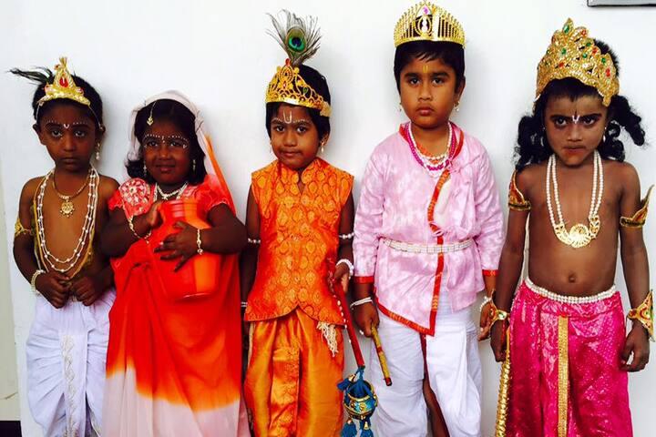 Shree Sankalpa School-Festival Celebration