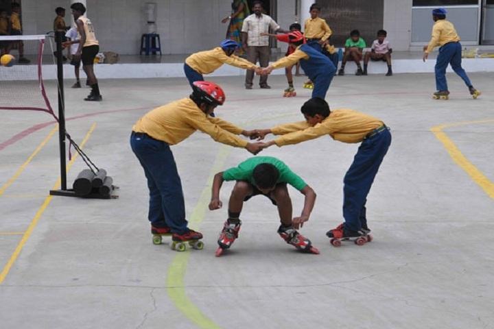 Shri Jay Raj Vidya Mandir School - Skating Classes