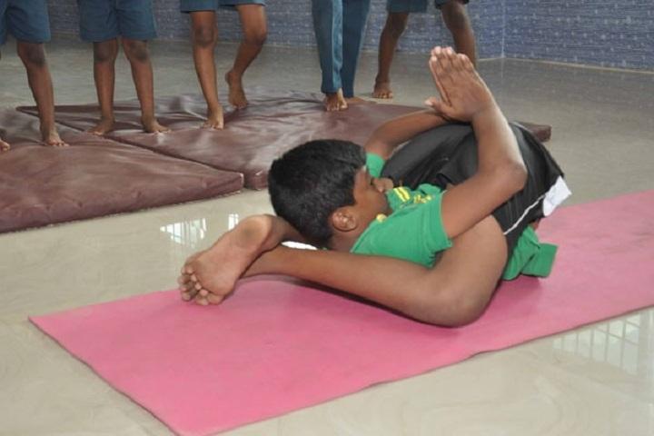 Shri Jay Raj Vidya Mandir School- Yoga