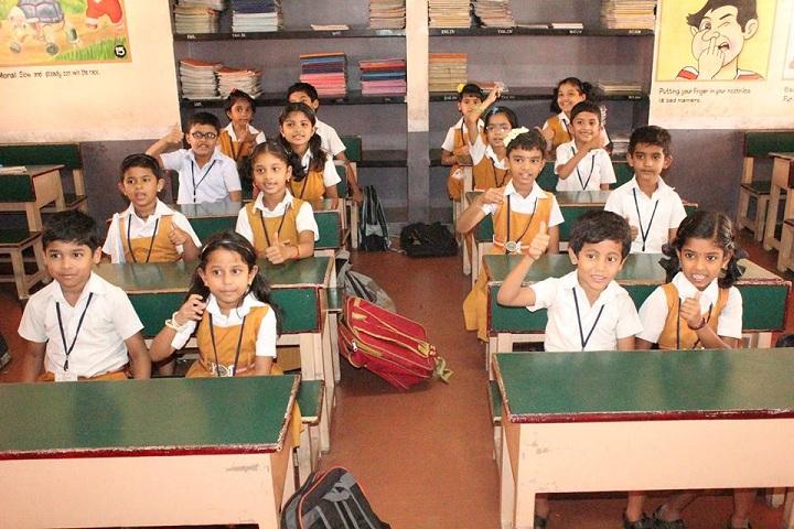 shri maharishi vidya mandir dindigul - classroom