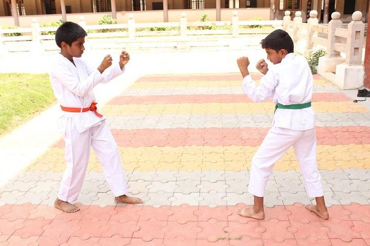 shri maharishi vidya mandir dindigul - karate