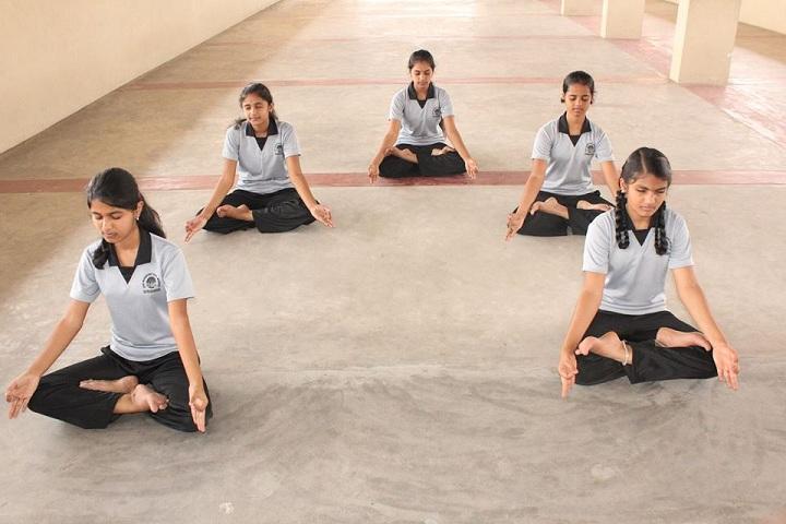shri maharishi vidya mandir dindigul - meditation