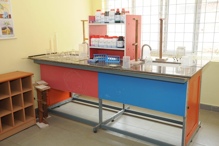 Shri Rosy Vidyaalaya - Science lab