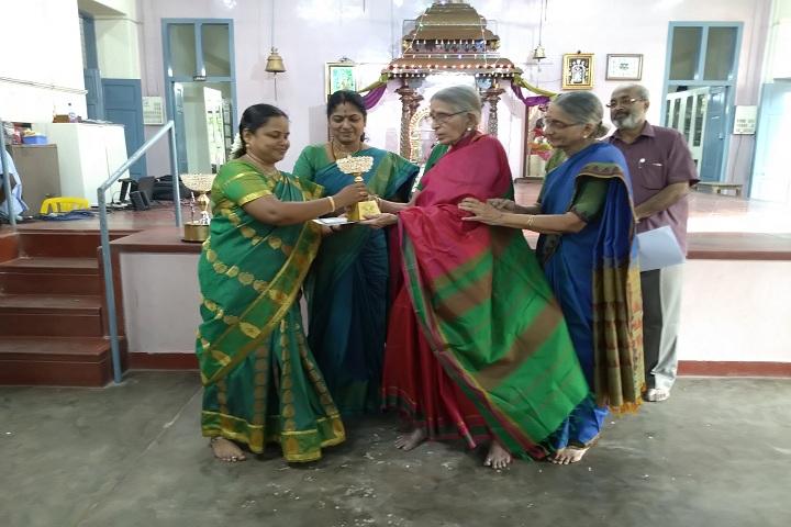 Sir Sivaswami Kalalaya Sr Sec School - Best teacher award