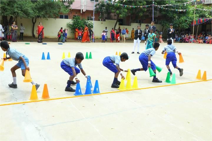 Sir Sivaswami Kalalaya Senior Secondary School-Sports Day