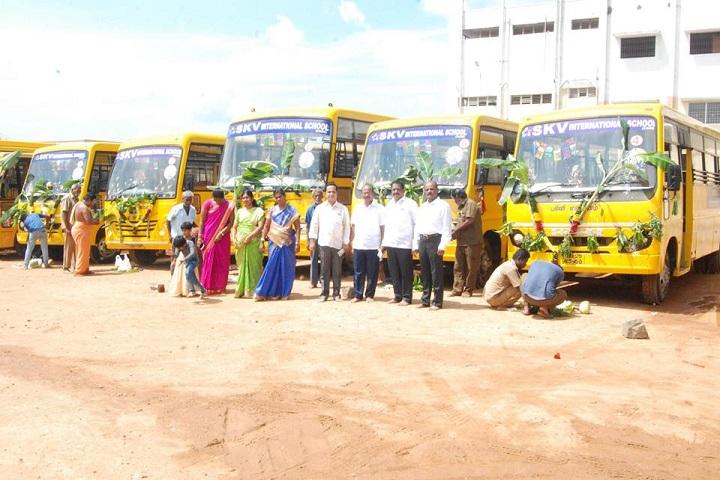 SKV International school-Transport Facility
