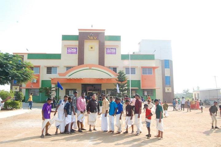 SKV International school-Traditional Day Celebration