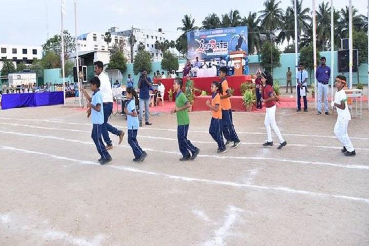 Smart Modern School-Sports
