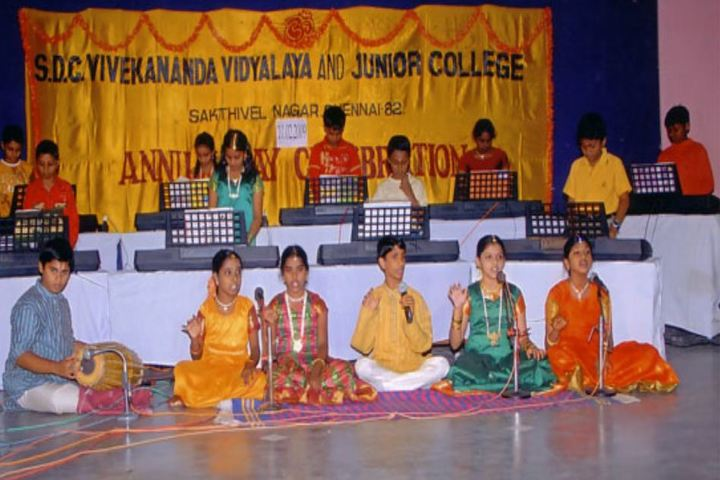 Smt Durgadevi Choudhari V Vidyalaya-Music compitation