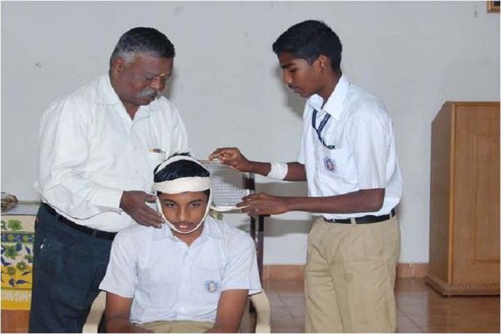 Smt Ramkuwar Devi Fomra Vivekananda Vidyalaya-Medical Camp