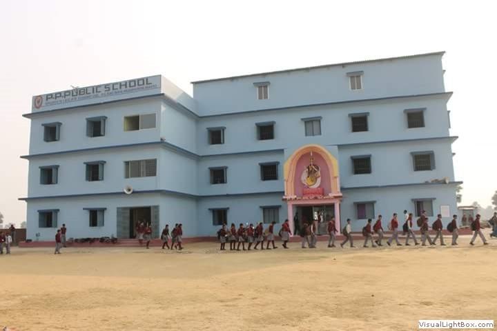 Pratibha Pallavan Public School-school Building