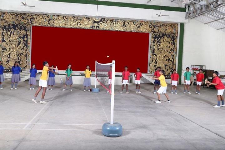 soudarya vidyalaya-badminton