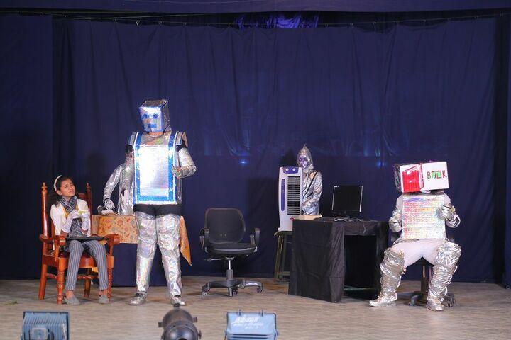 Soundararaja Vidyalaya-Robotic Activity