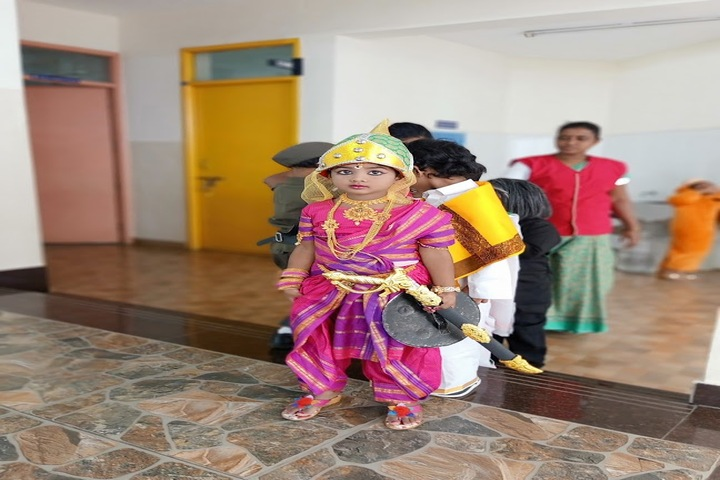 Spartan International School-Fancy Dress Compitition