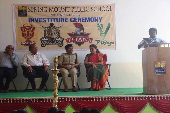 Spring Mount Public school-Investiture Ceremony
