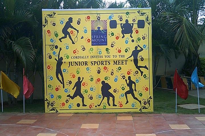 Spring Mount Public school-Sports Meet