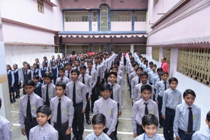 Pratibha Public School-Assemble