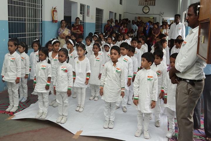 Sree Sankara Bala Vidyalaya Golden Jubilee School-Assembly