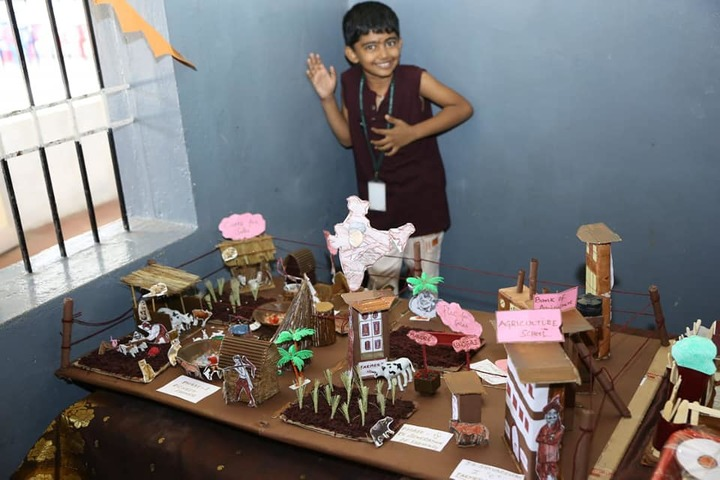 Sree Sankara Bala Vidyalaya Golden Jubilee School-School Exhibition