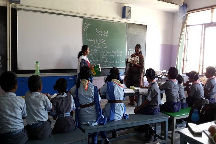 Sree Shanthi Anand Vidyalaya-Classroom
