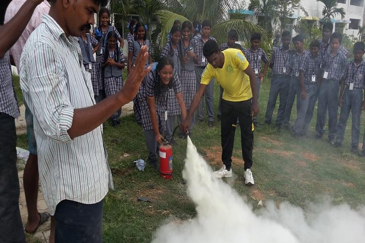 Sree Shanthi Anand Vidyalaya-Safety fire