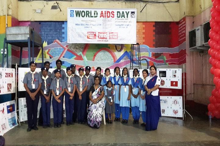 Sree Shanthi Anand Vidyalaya-Scout Activities