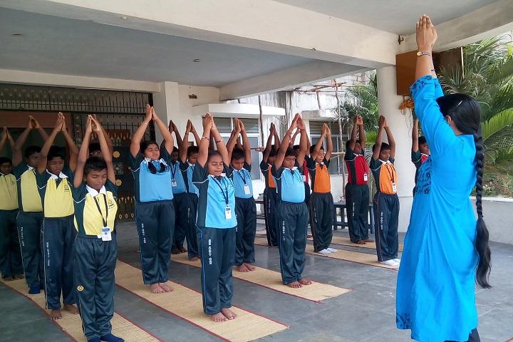 Sree Shanthi Anand Vidyalaya-Yoga