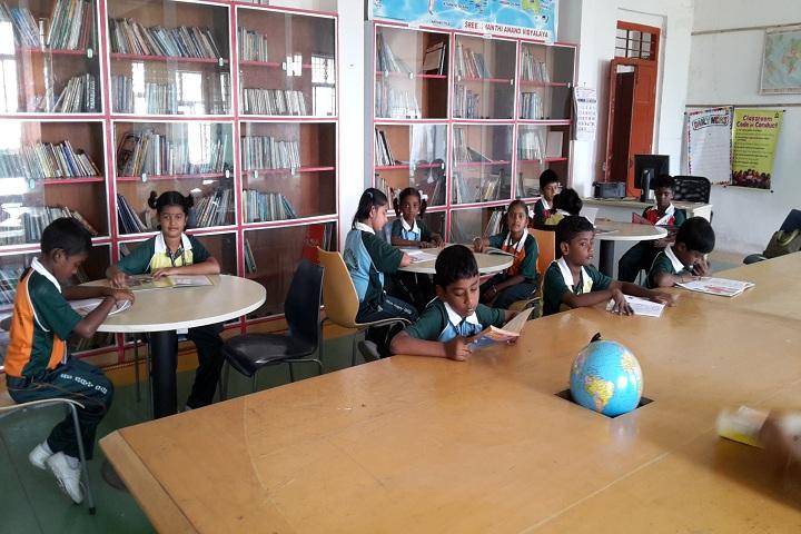Sree Shanthi Anand Vidyalaya-Library