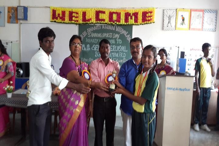 Sree Shanthi Anand Vidyalaya-Sports Day