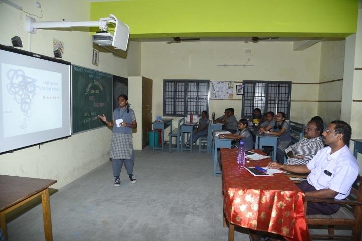 reevatsa Viswananthan Vivekananda Vidyalaya Senior Secondary School-AV Room