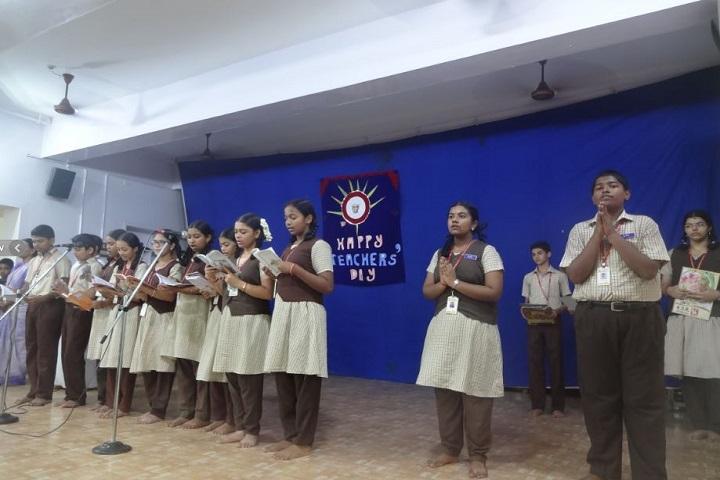 Sri Akilandeshwari Vidyalaya-teachers day