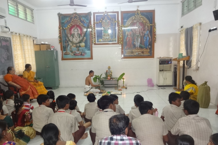 Sri Akilandeshwari Vidyalaya-Ganesh festival celebrations
