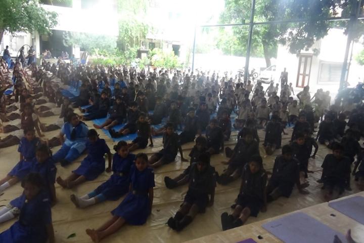 Sri Akilandeshwari Vidyalaya-Yoga