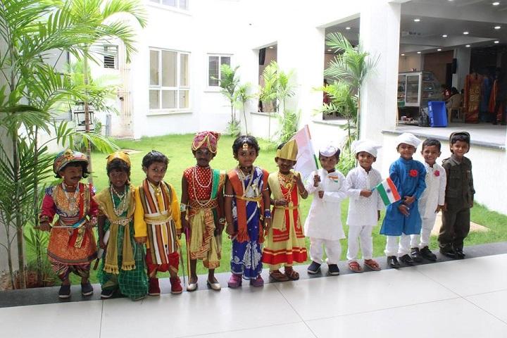 Sri Aurobindo Mira Universal School-independence day