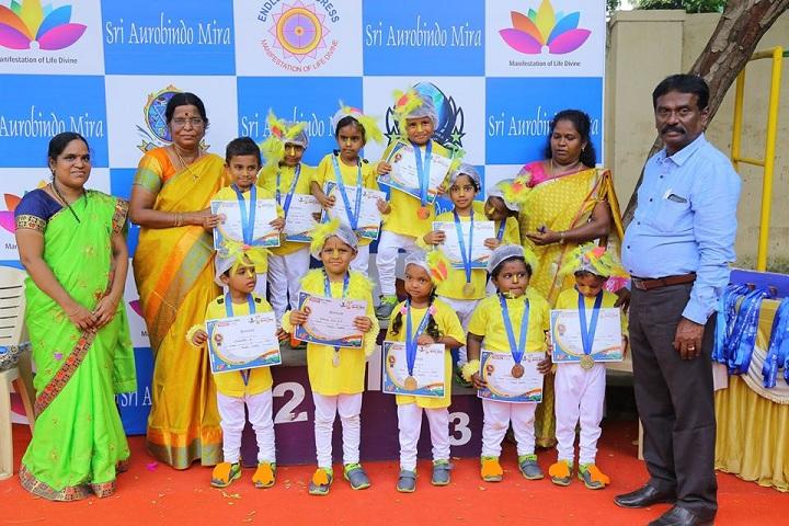 Sri Aurobindo Mira Universal School-Award ceremony