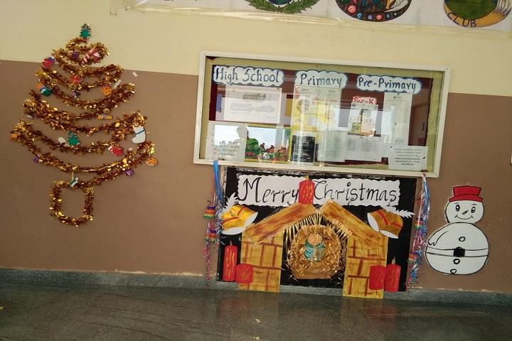 Sri chaitanya techno school-Xmas celebrations