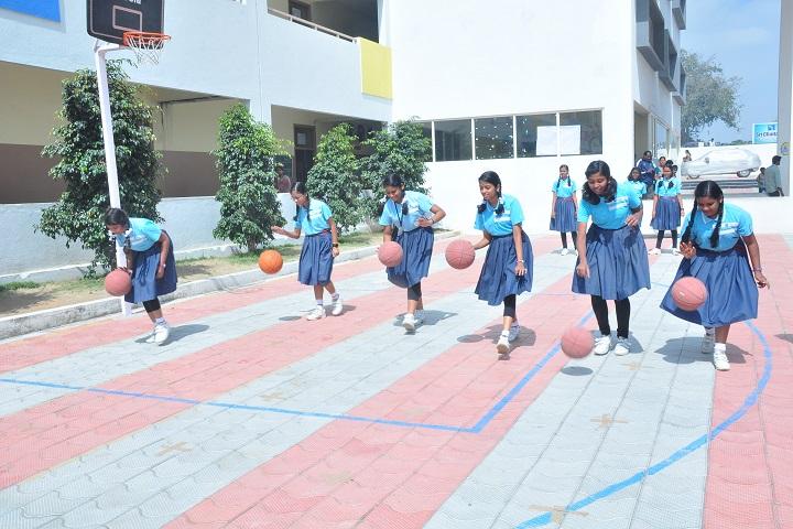 Sri chaitanya techno school-basketball