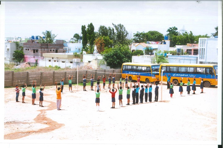 Sri chaitanya techno school-play ground