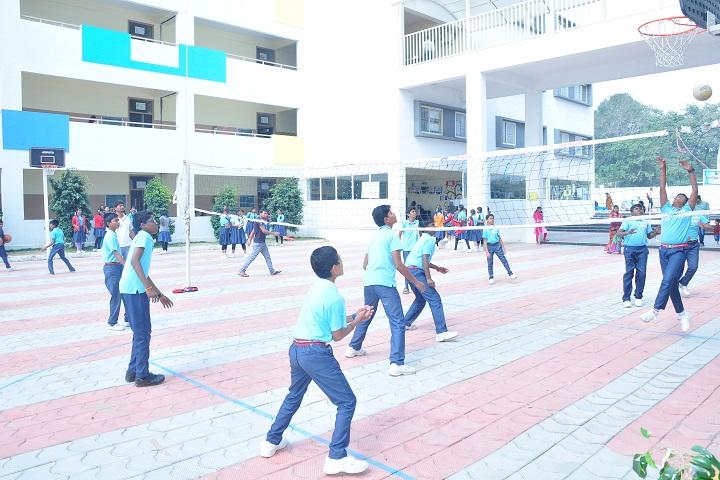 Sri chaitanya techno school-volleyball