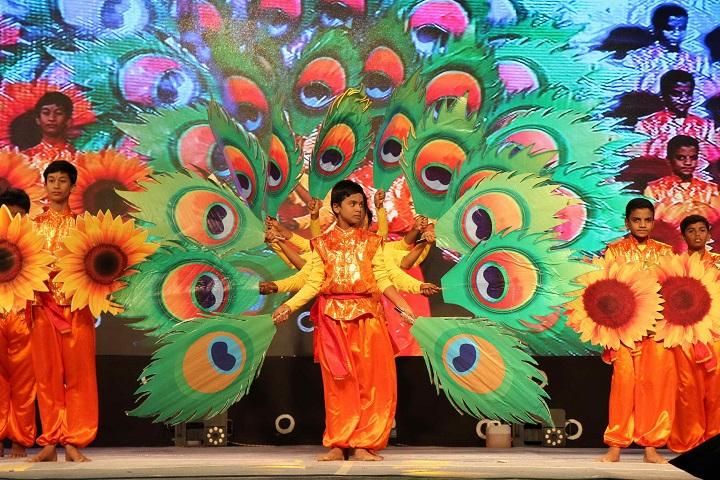 sri chaitanya techno school-fest